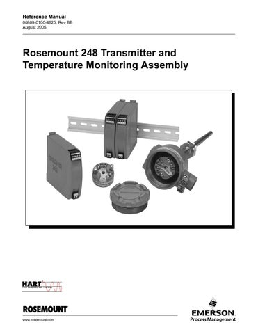 """Rosemount 78 Series Heavy Duty 4-wire RTD 1//4/"""" x 6/"""" probe 72/"""" Teflon Leads"""