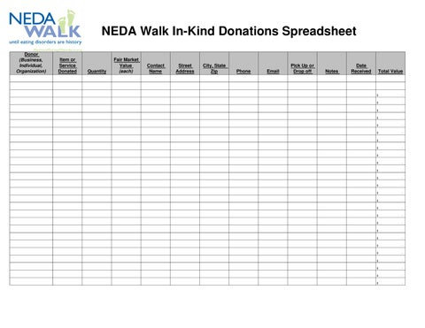 in kind spreadsheet by kathryn smith issuu