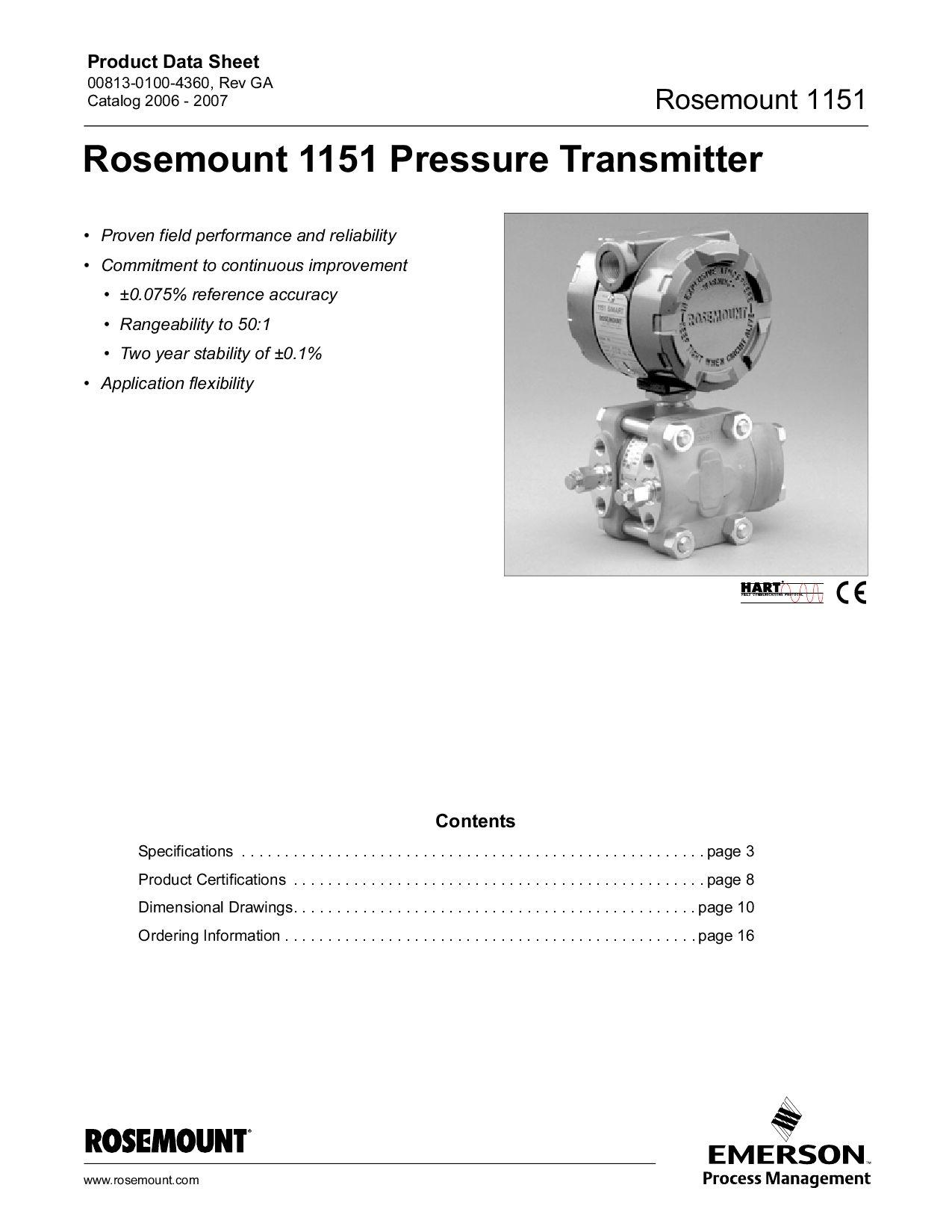 Rosemount 1151 Pressure Transmitter - catalog 2006 - 2007 by luppo on barrett wiring diagram, harmony wiring diagram, fairmont wiring diagram, wadena wiring diagram, regal wiring diagram, walker wiring diagram, becker wiring diagram, ramsey wiring diagram,