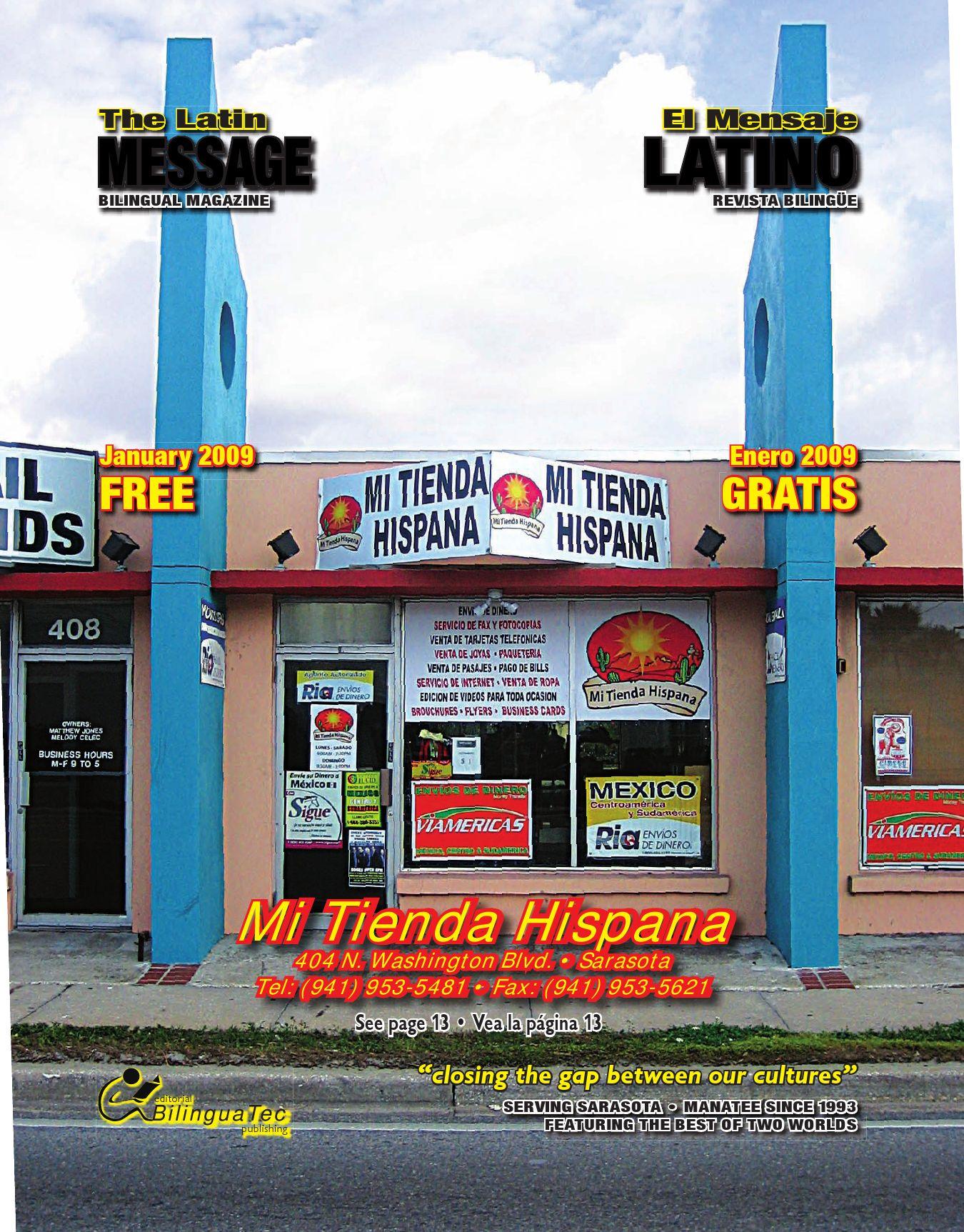 January 2009 by El Mensaje Latino - issuu