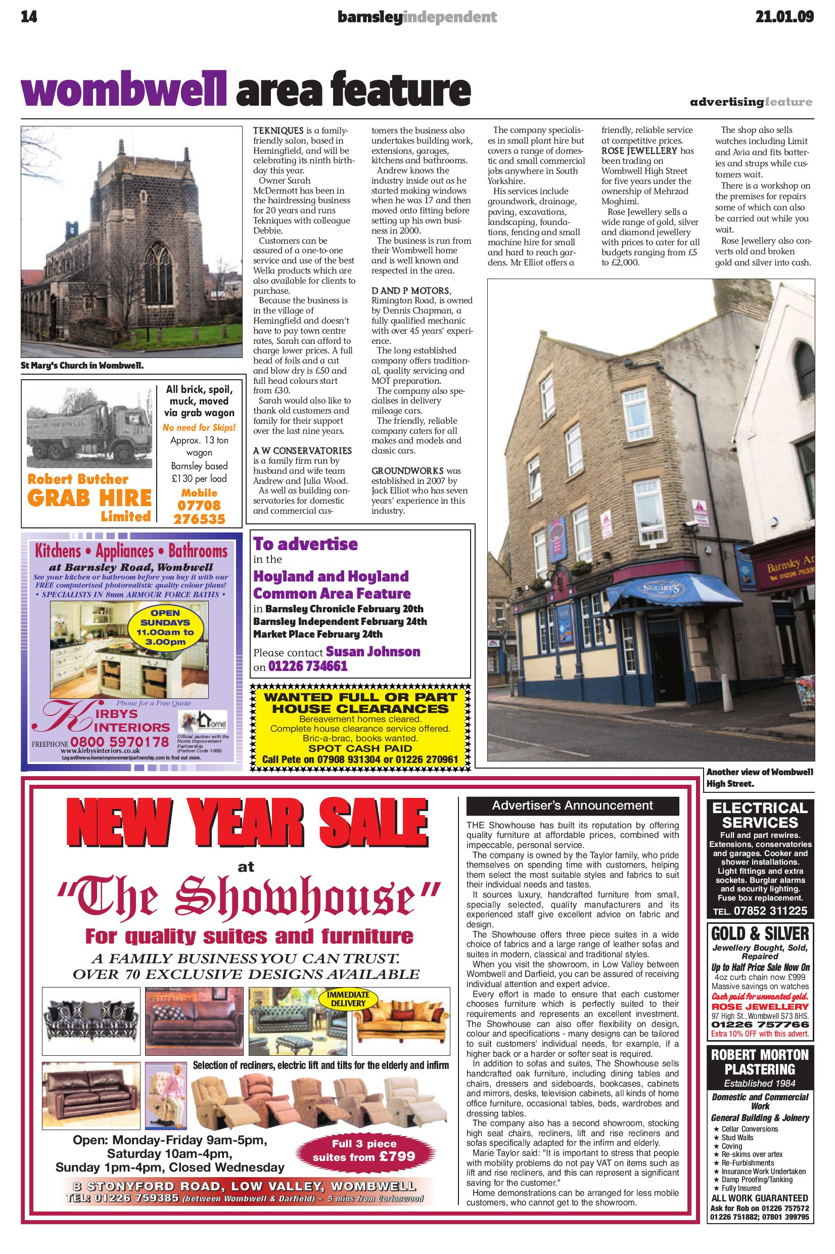 Barnsley Independent - 21st January 2009 by Barnsley ...