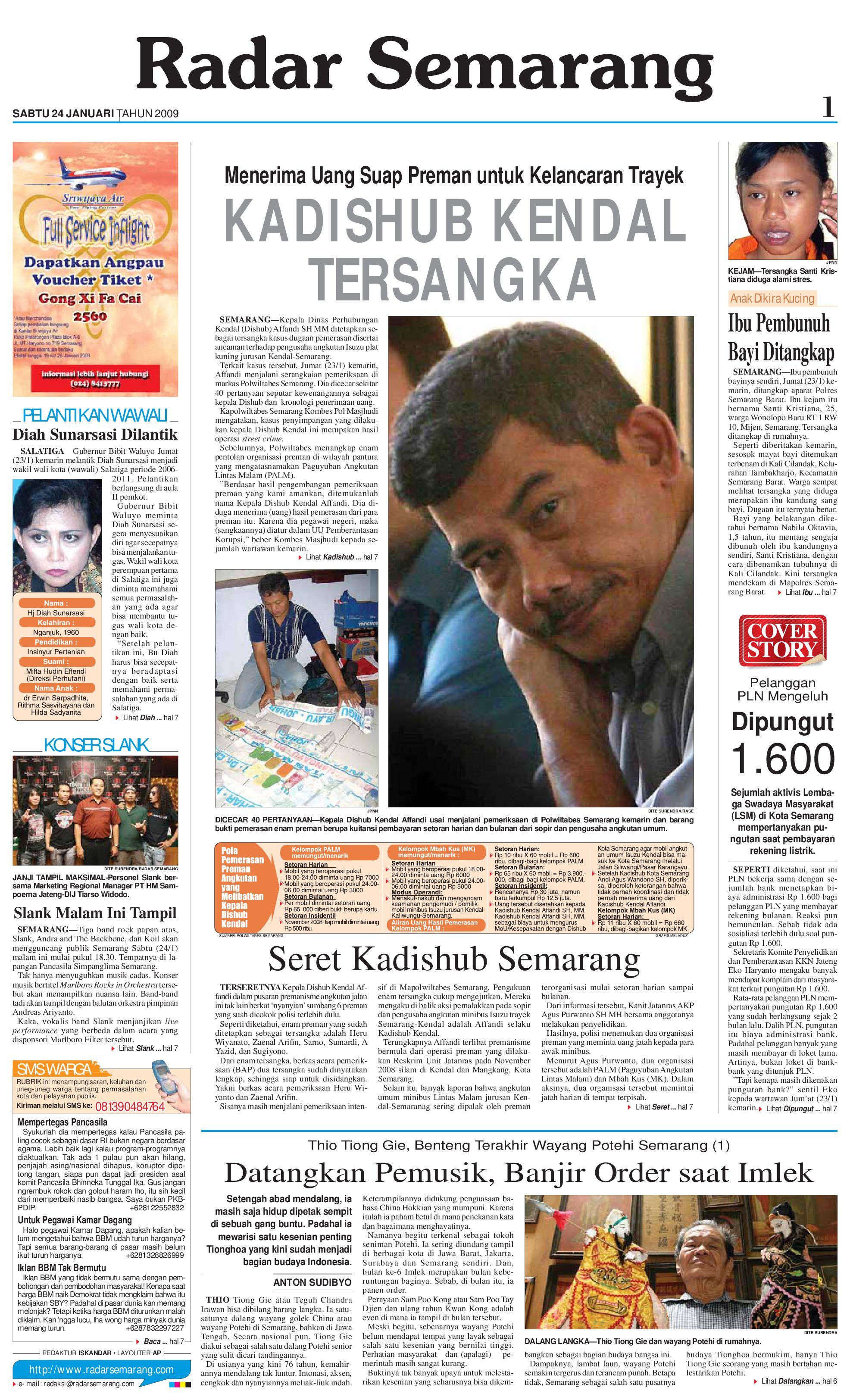 Radar Semarang 24 Januari 2009 By Rs Issuu Voucher Sdc Pecahan 50000