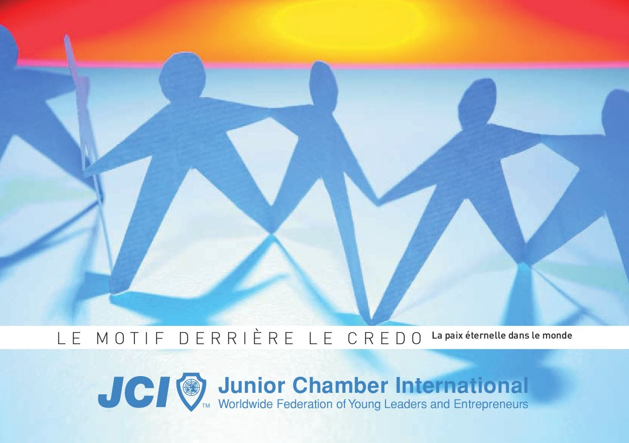 Le credo de JCI   explication by Grégory MAUBON - issuu 4bb1f10970ba