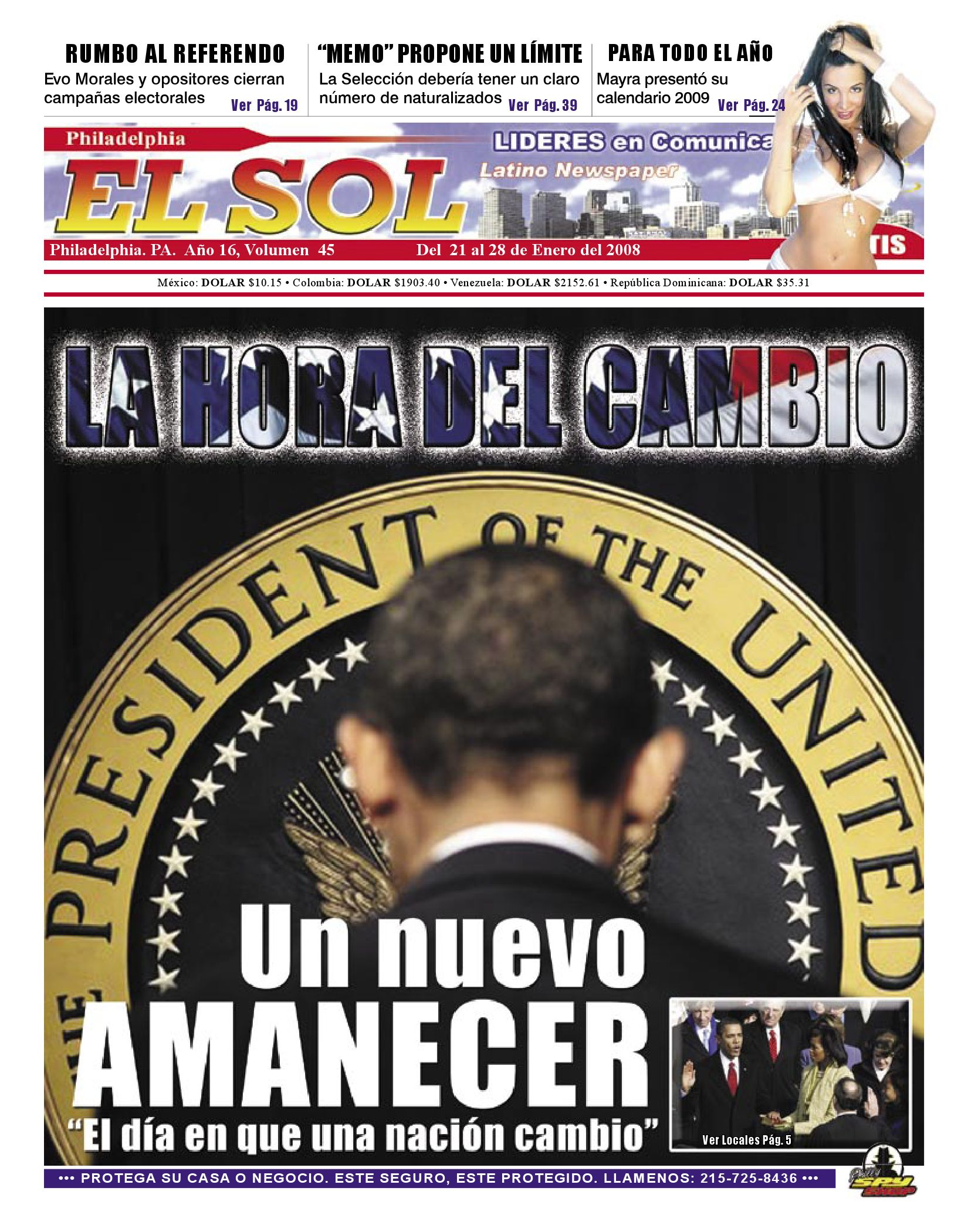 El Sol Philadelphia Vol16 No45 by El Sol Latino Newspaper - issuu