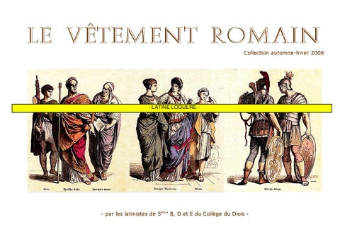 Le V 234 Tement Romain By Delord Robert Issuu