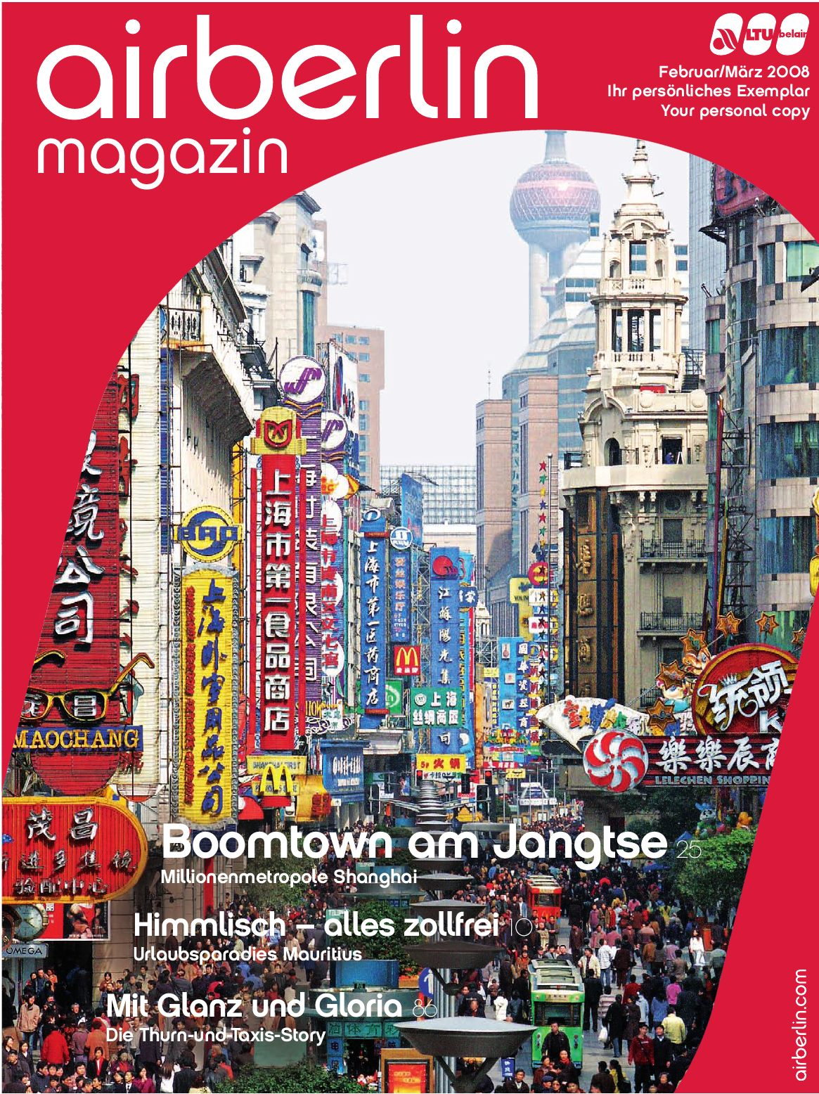 airberlin magazin 01/2008 by airberlin Airline - issuu