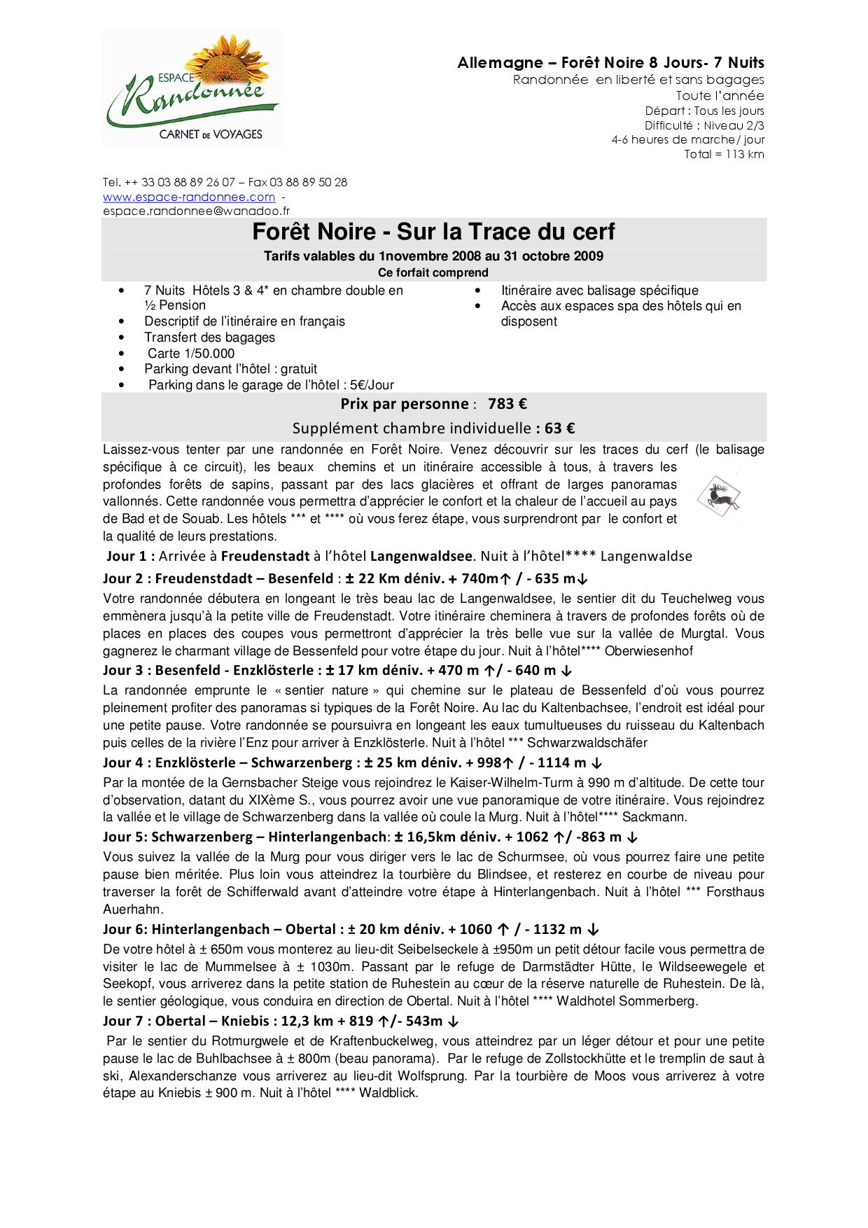 Allemagne espace foret noire 2009 by eureka publicite issuu - Chambre d hotes foret noire allemagne ...