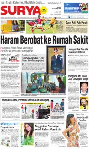 Surya Edisi Cetak 27 01 2009 by Harian SURYA - issuu 7d0759f53d