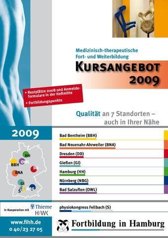 FiHH Jahresprogramm 2009 by Fortbildung in Hamburg - issuu