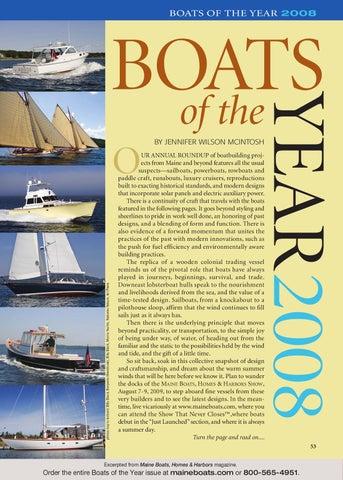 23ecc903e97 Boats of the Year - Maine Boats