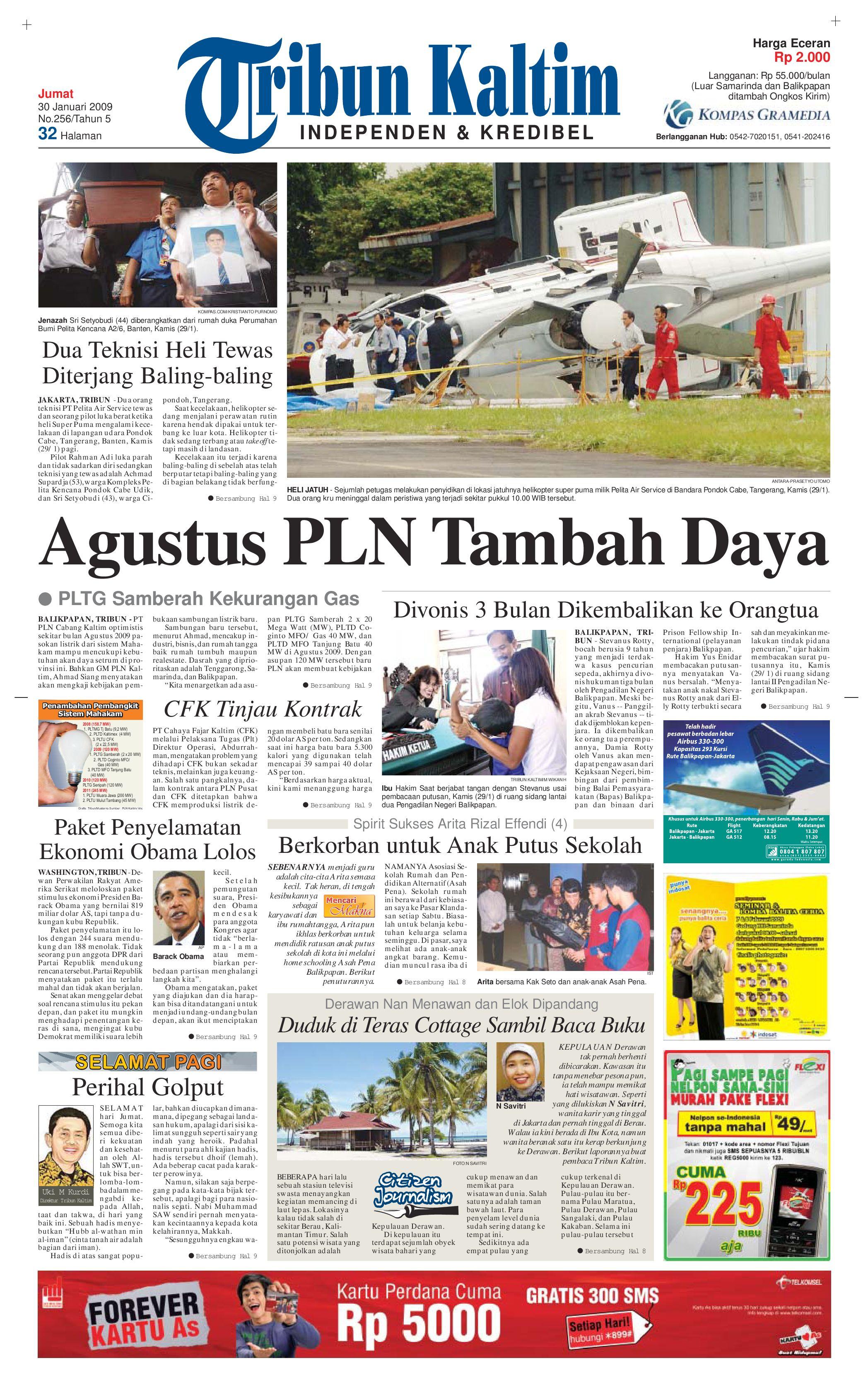 TRIBUN KALTIM 30 JANUARI 2009 by tohir tribun - issuu 7debf80d79