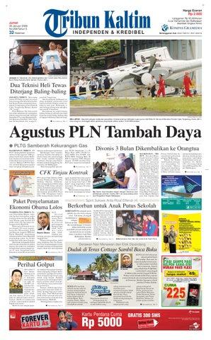 TRIBUN KALTIM 30 JANUARI 2009 by tohir tribun - issuu 606f82175f