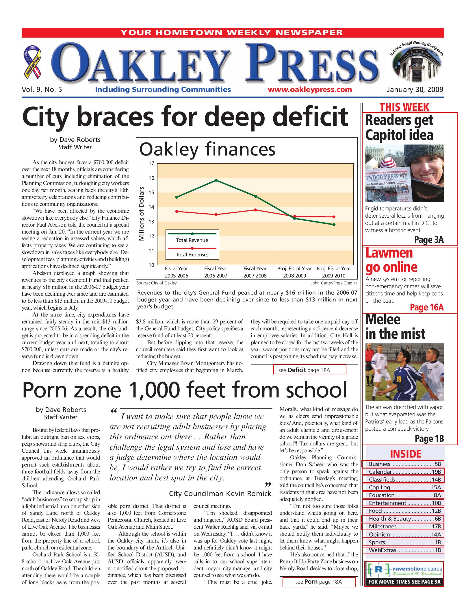 Oakley Press_1 30 09 by Brentwood Press & Publishing - issuu