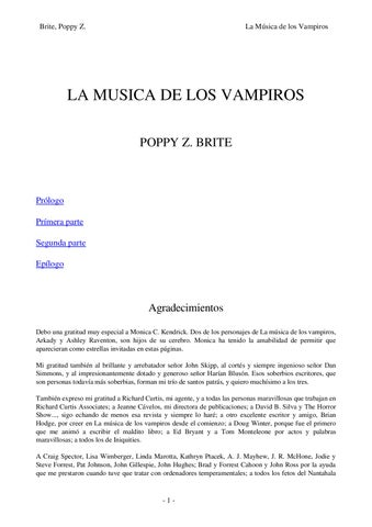La Musica de Los Vampiros by hernan almaguer - issuu