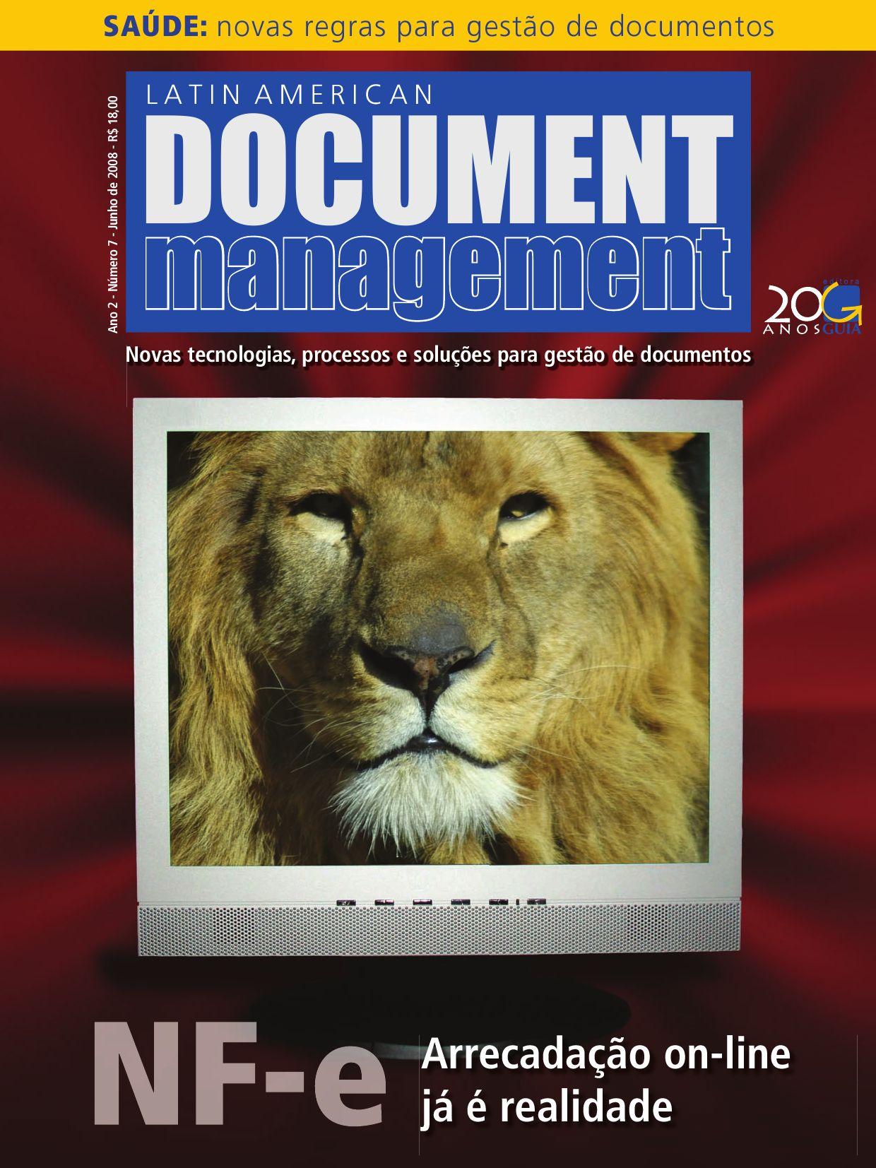 Document Management 07 By Editora Guia Issuu