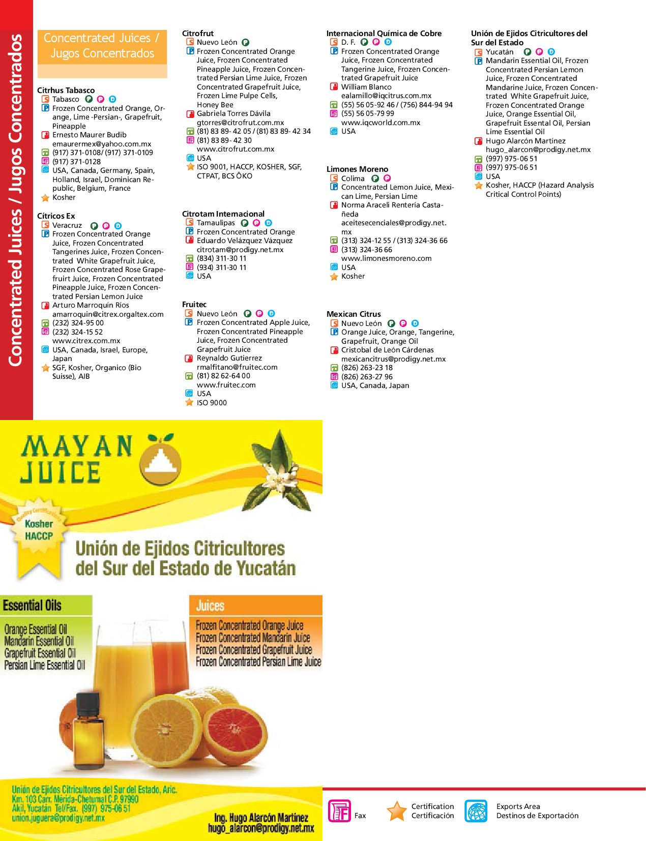 Mexican Agricultural Exporters Directory by Viktor Benitez