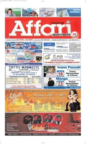28 Srl 2009 Mercoledi Affari Affarigiornale Editoriale Gennaio By XTOkuPZi