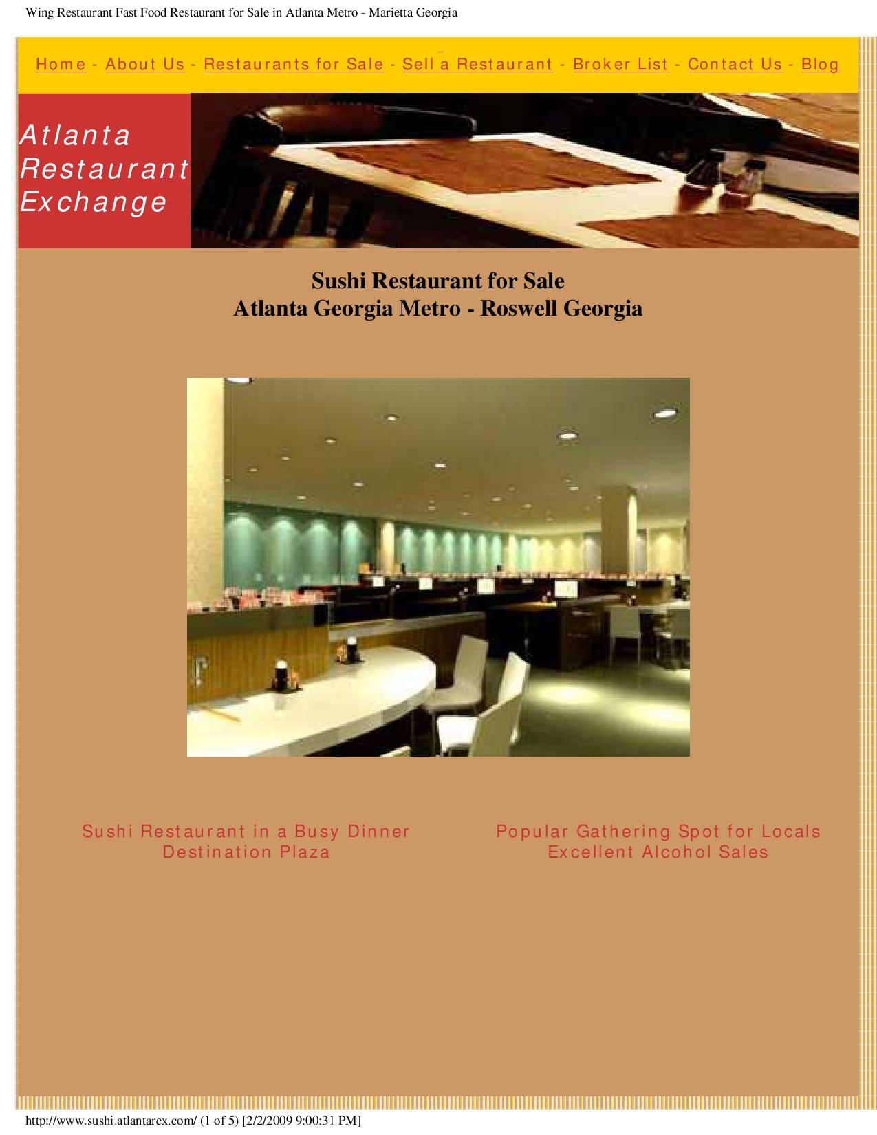 Restaurants For Sale In Atlanta Ga By Doug Marranci Issuu