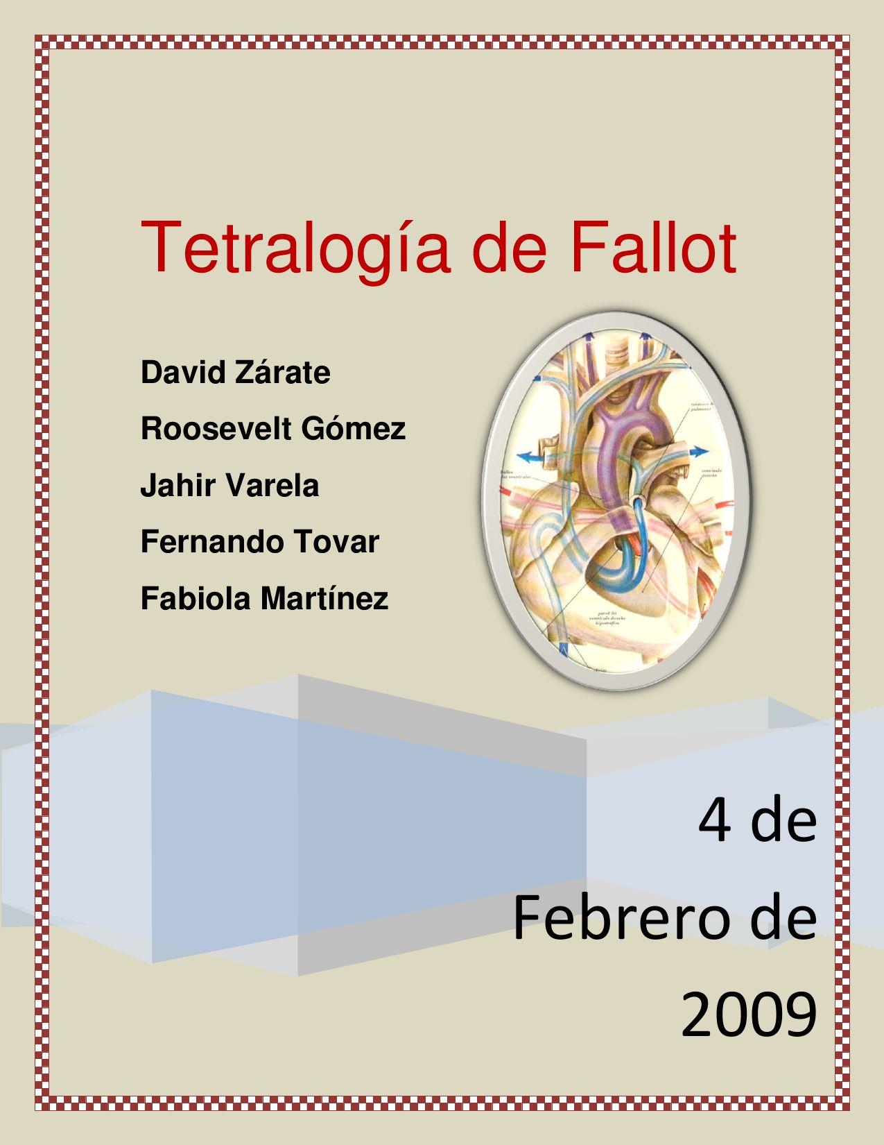 tetralogia de fallot by joaquin varela - issuu