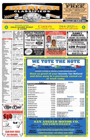 San angelo american classifieds by san angelo american classifieds page 1 fandeluxe Gallery