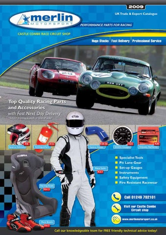 Merlin Motorsport Catalogue 2009 by Rob Smith - issuu 057f38148