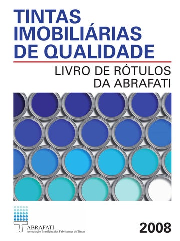 Tintas Imobiliárias de Qualidade by Editora Blucher - issuu 9adc3d6b55