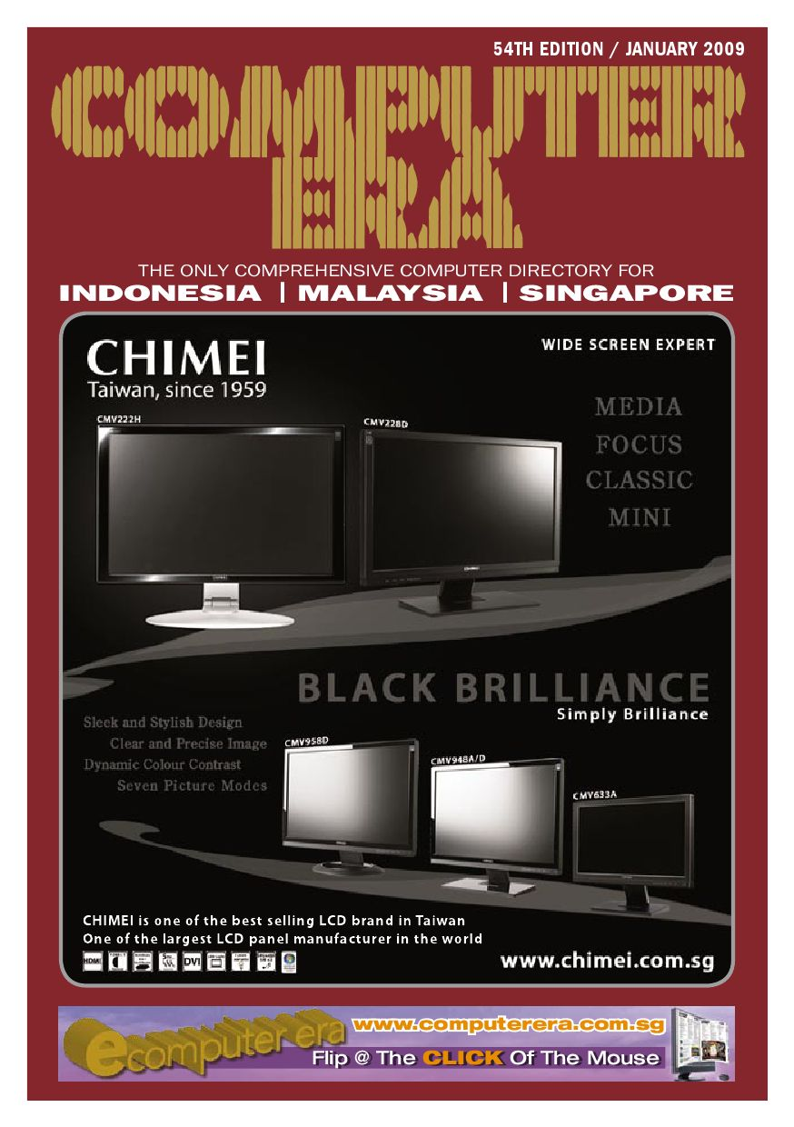 Computer Era 54th Edition (Singapore Section) by Eastern Trade Media - issuu 8fcb8bf0e6