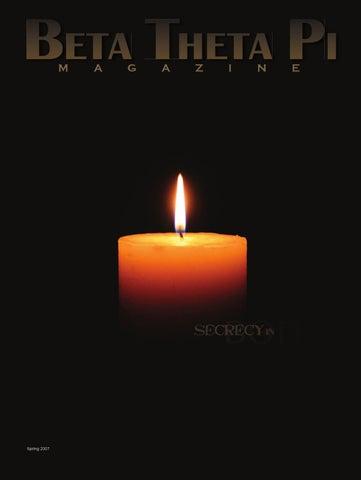 The Beta Theta Pi Magazine (Spring 2007) by Beta Theta Pi