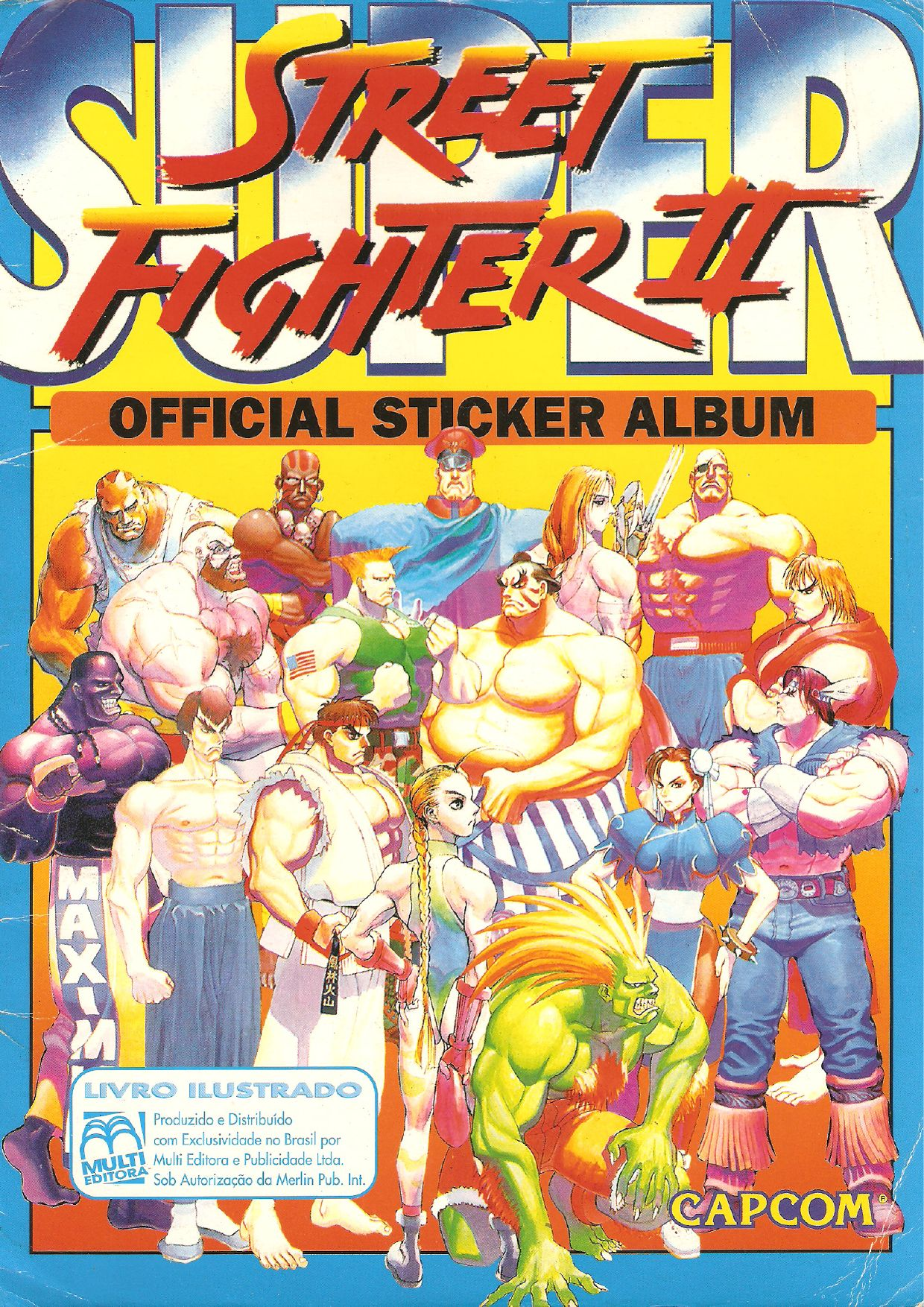 Super street fighter ii official sticker album by claudio prandoni issuu