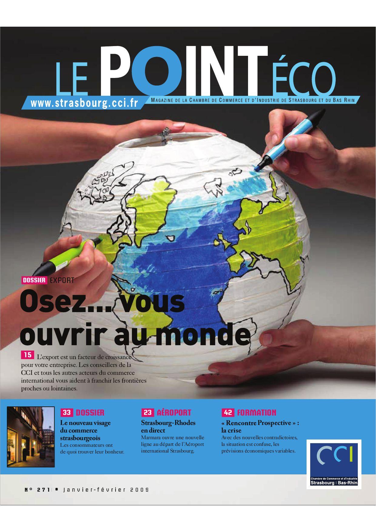 Point Economique Numéro 271 by CCI Alsace Eurométropole issuu