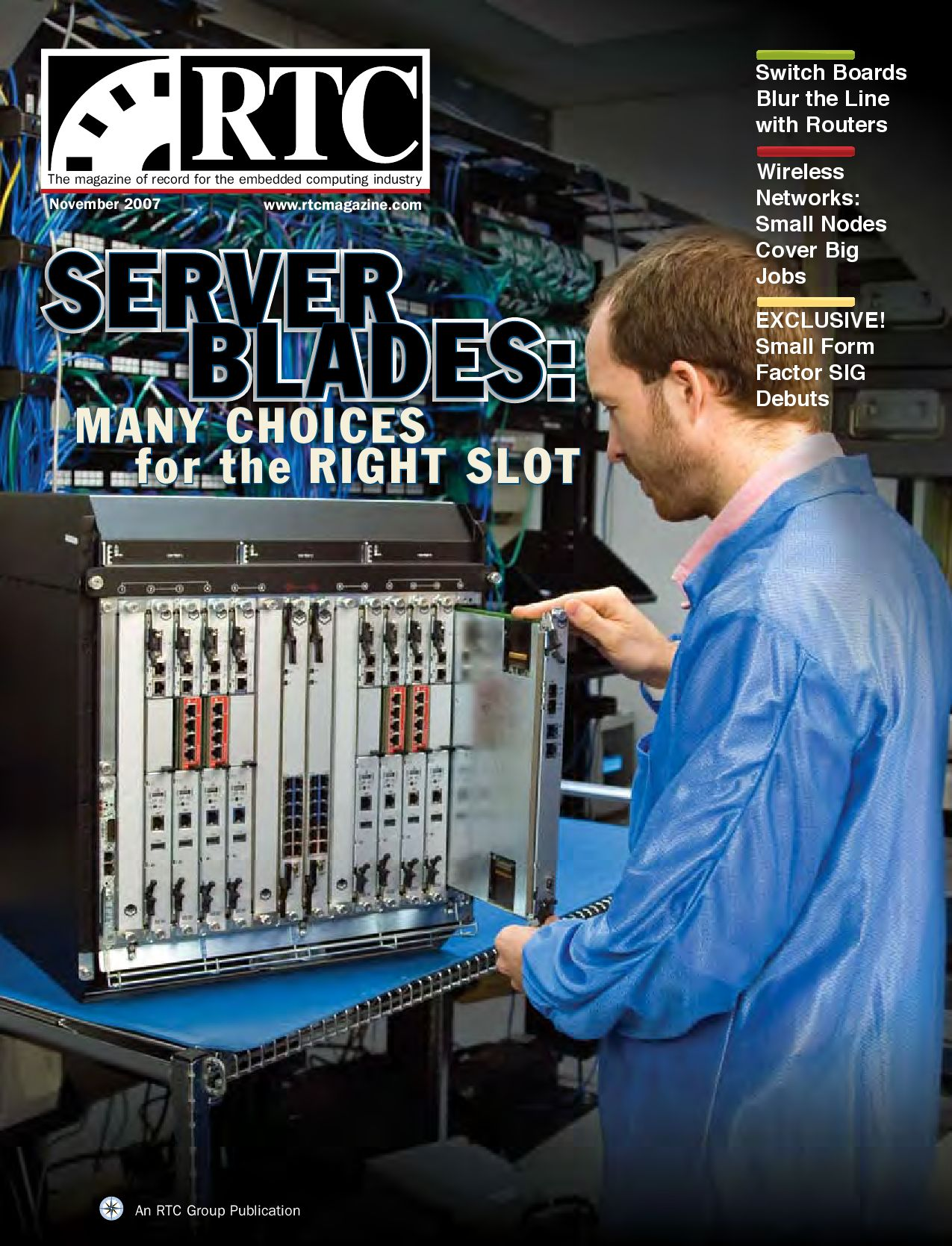 Switch Boards Blur The Line With Routers By Rtc Media Issuu Circuitboardmachinewithtechnician Commercial Editorial