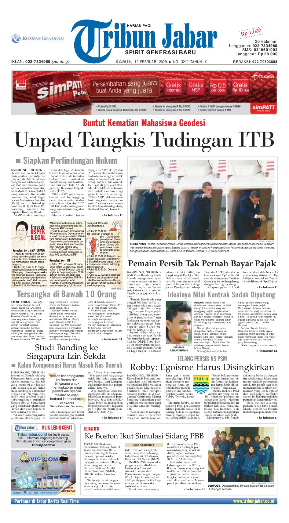 Edisi 3210 Tahun Ix By Tribun Jabar Issuu Strong Kangen Water Ph 115 Ukuran 1000 Ml Terapi Air Kelas Dunia Indonesia