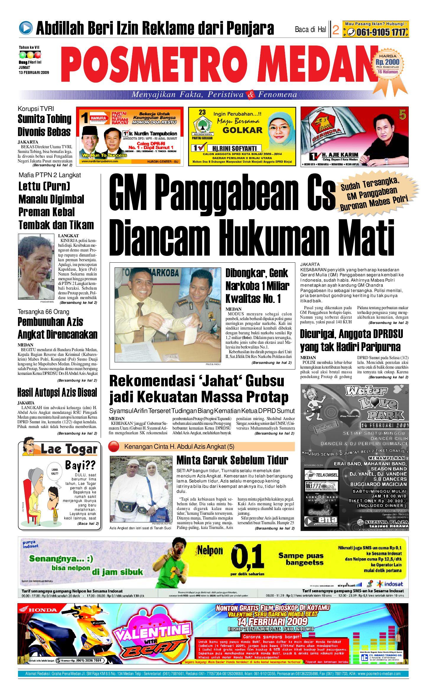 Posmetro Medan By Simon Sinaga Issuu Charger Warna Warni Merk Hasan Sj0048
