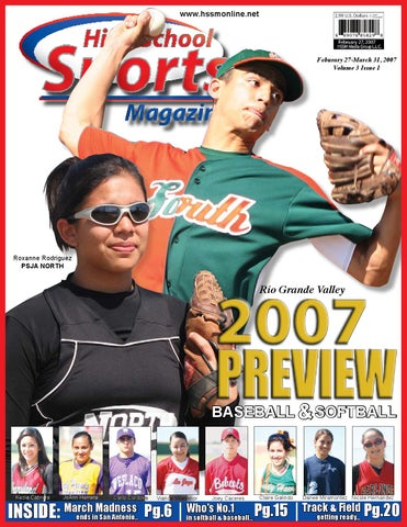 High School Sports Magazine February 2007 Issue By David Amador Issuu