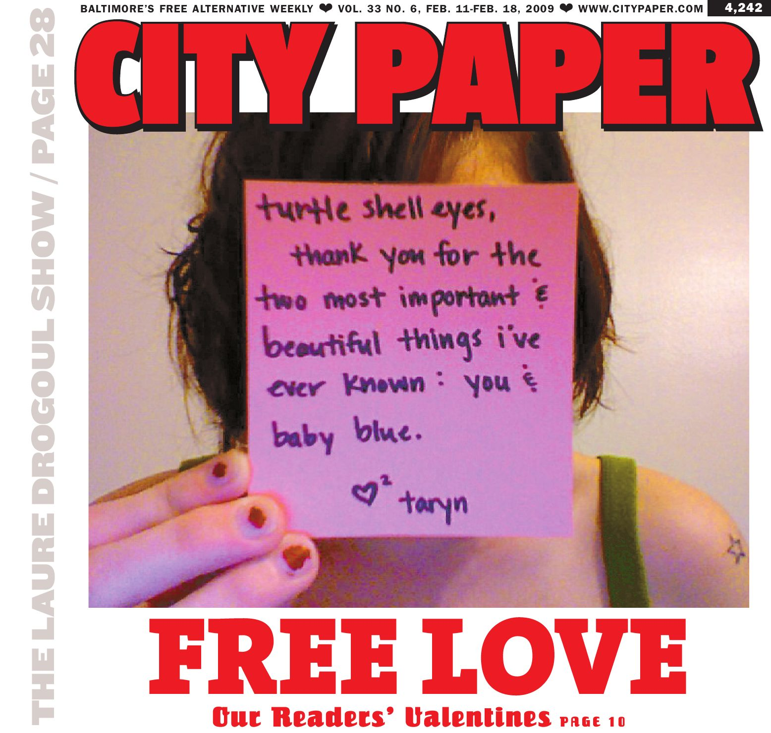 Baltimore City Paper, Vol. 33, No. 6 by Baltimore City Paper ... on