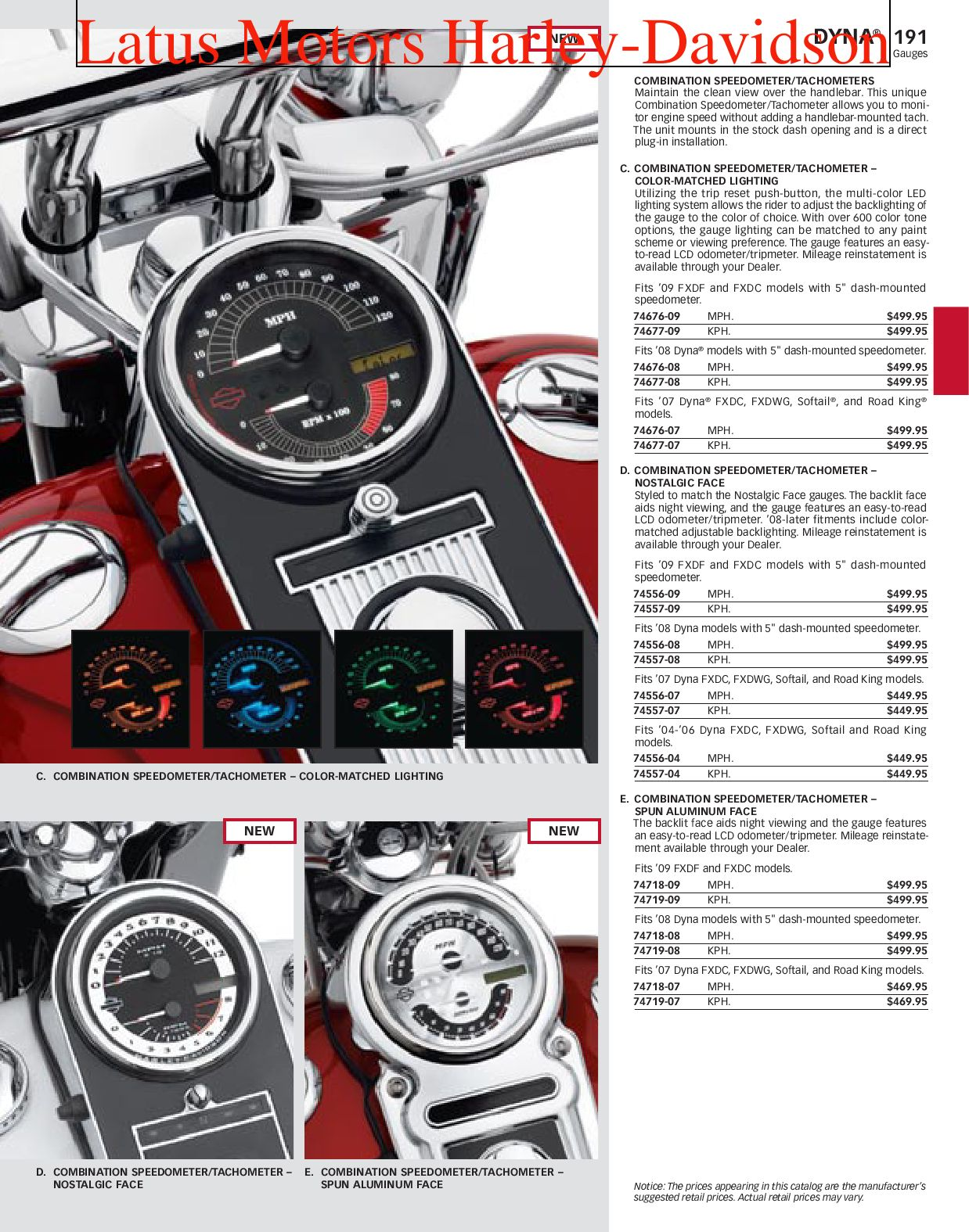 Part 1 Harley-Davidson Parts and Accessories Catalog by ...