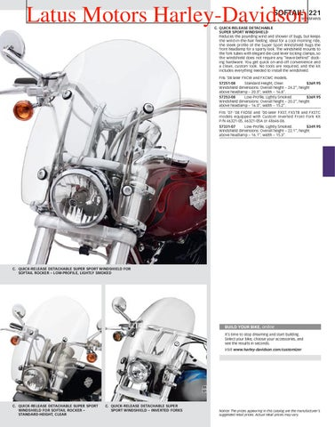 fd1165ce Part 1 Harley-Davidson Parts and Accessories Catalog by Harley ...