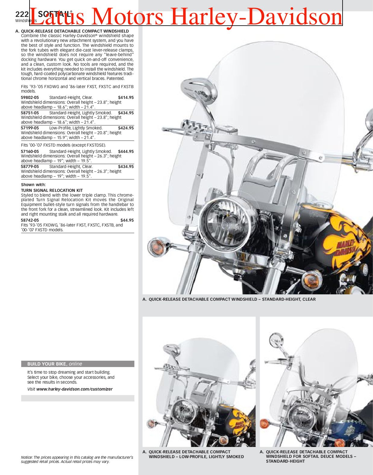 Part 1 Harley-Davidson Parts and Accessories Catalog by ... Harley Davidson Kes Diagram on