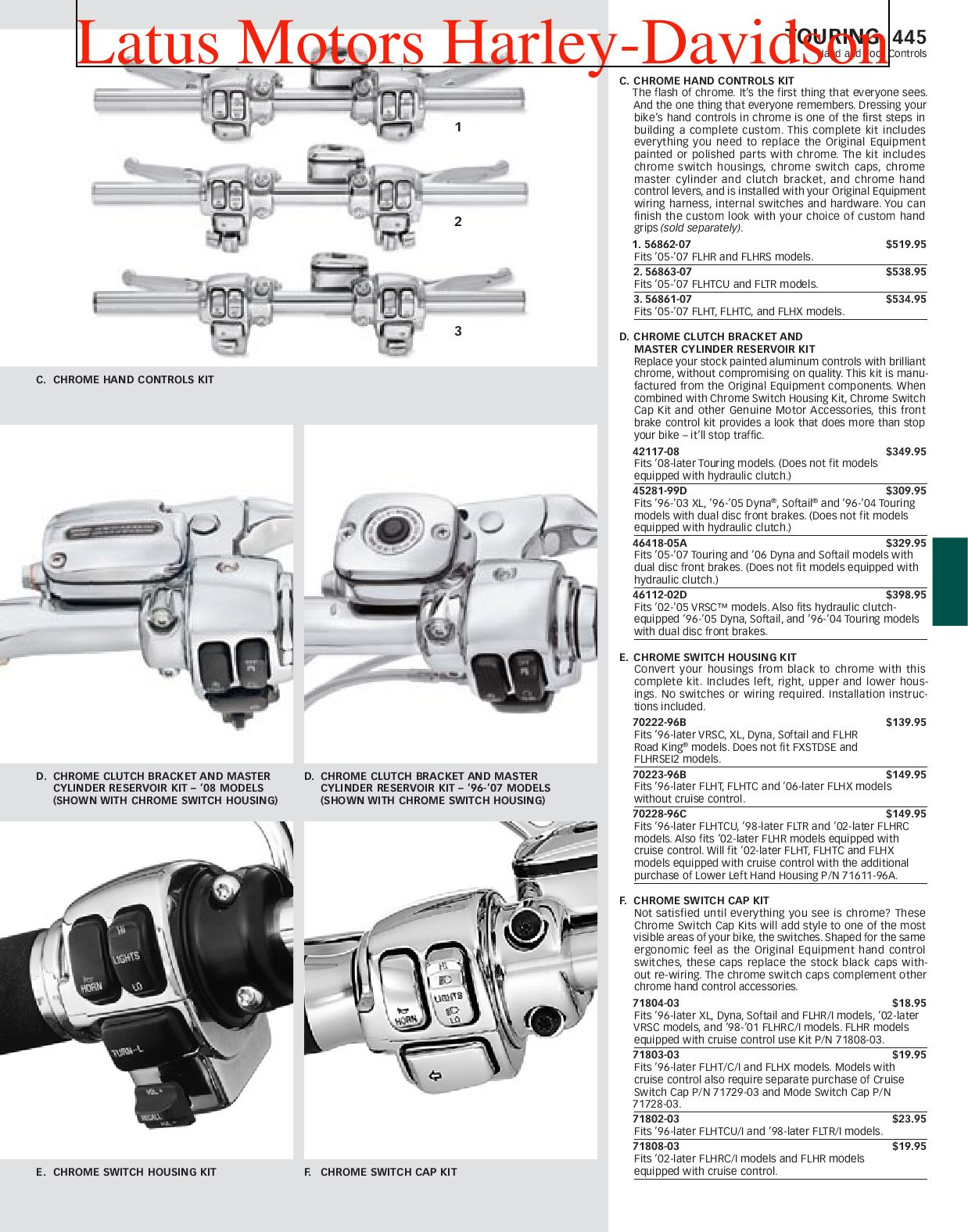 page_1 part 2 harley davidson parts and accessories catalog by harley  at edmiracle.co
