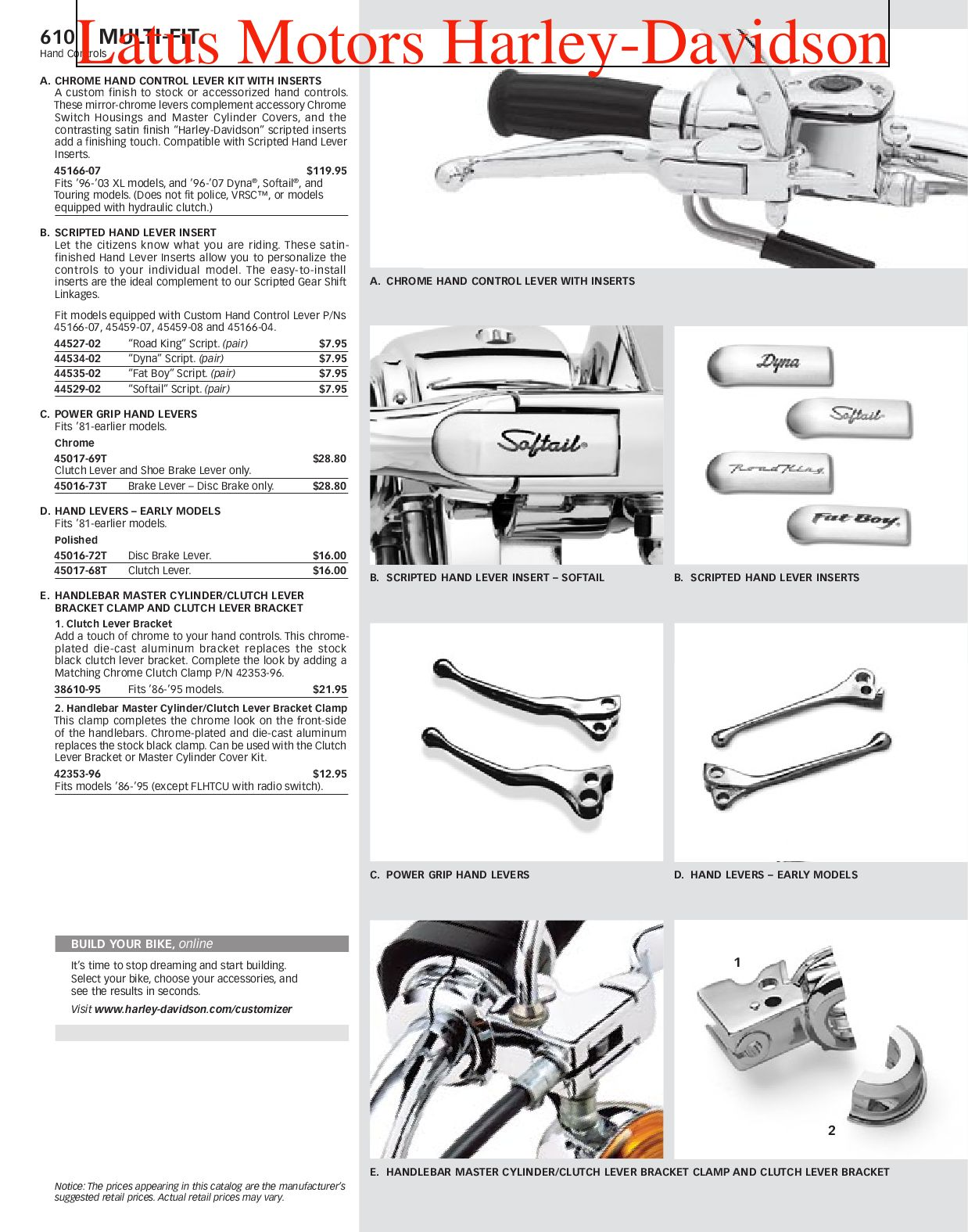 Part 2 Harley-Davidson Parts and Accessories Catalog by ...