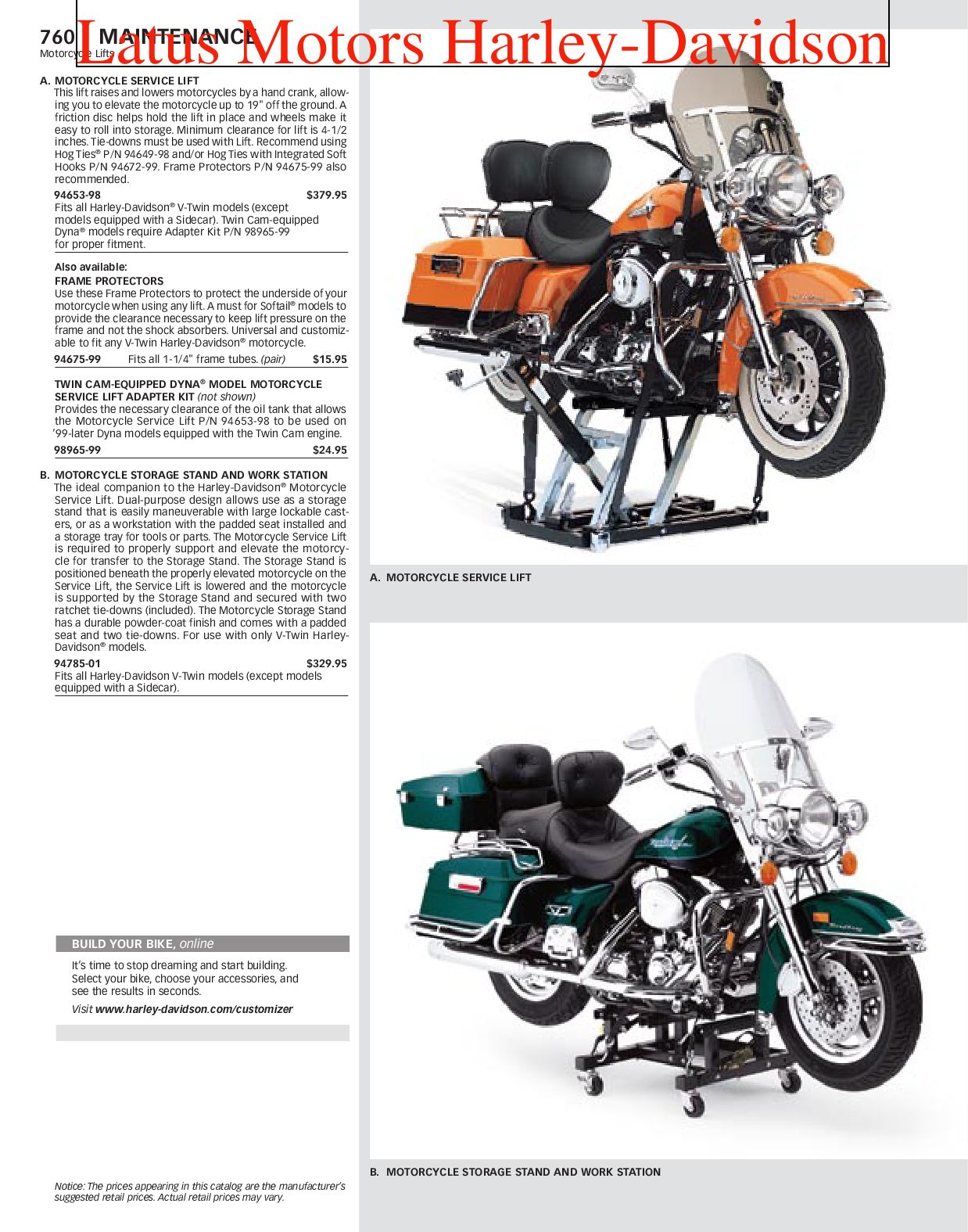 Part 2 Harley-Davidson Parts and Accessories Catalog by Harley ...