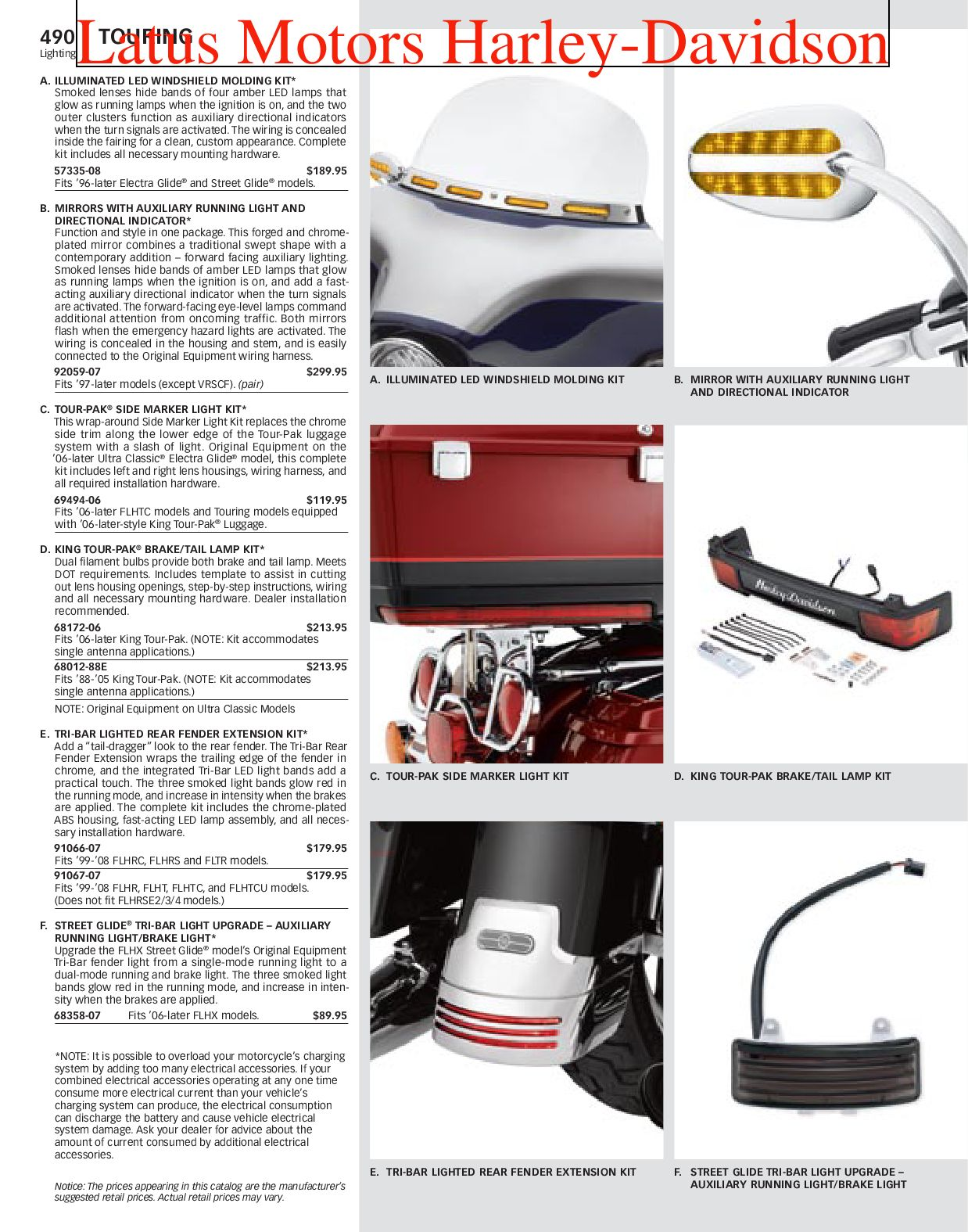 Part 2 Harley Davidson Parts And Accessories Catalog By