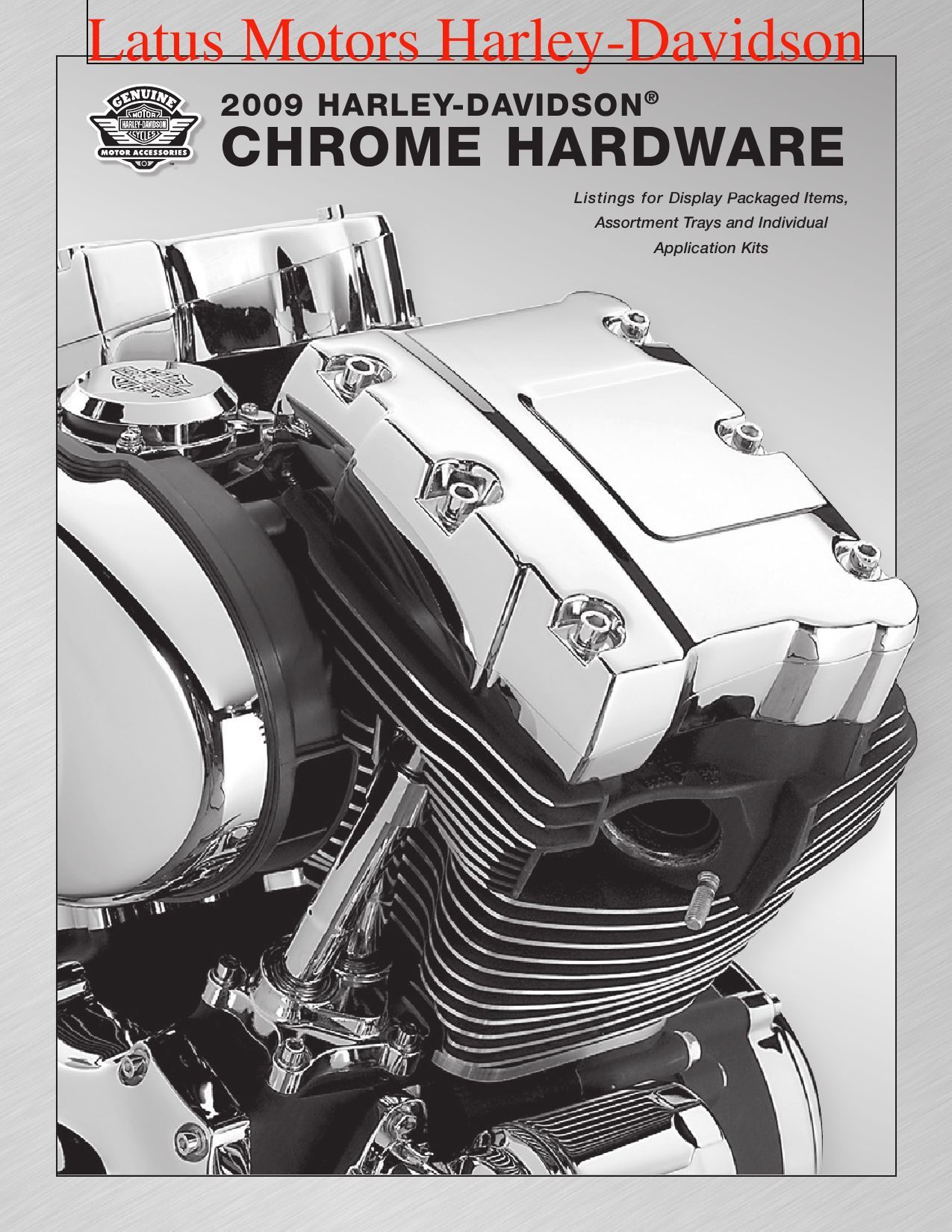 HARLEY Shovelhead Evolution Chrome Primary Cover Allen Screw Kit
