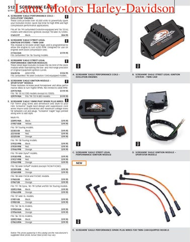 Harley-Davidson Screamin' Eagle® Parts and Accessories