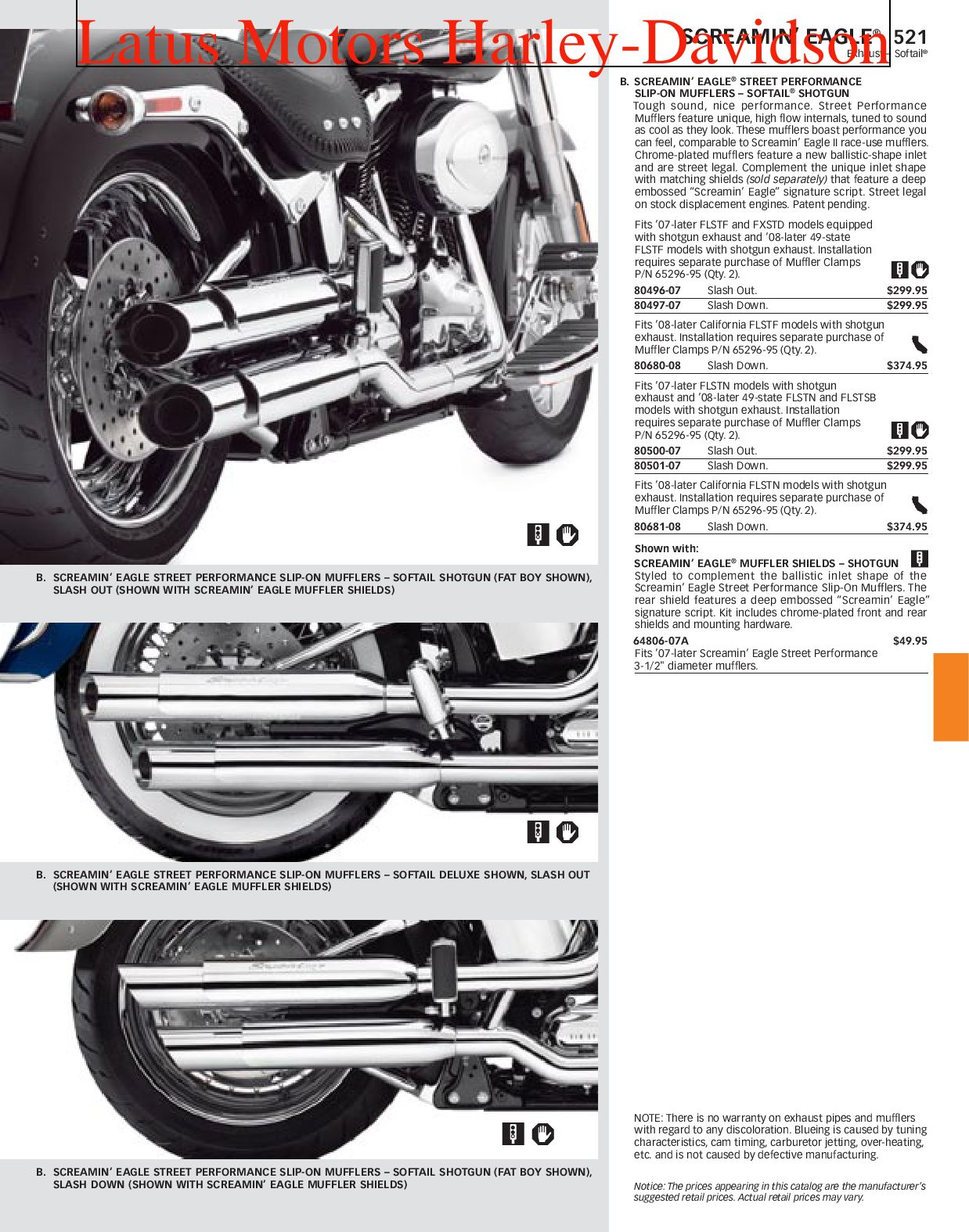 Harley Davidson Screamin Eagle Parts And Accessories Catalog By Harley Davidson Of Portland Issuu