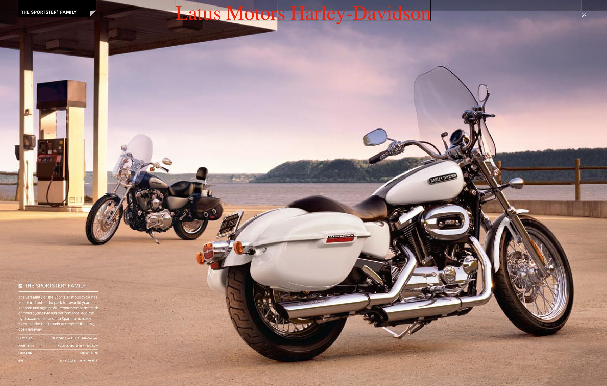 Harley-Davidson Sportster® Parts and Accessories Catalog by Harley-Davidson  of Portland - issuu