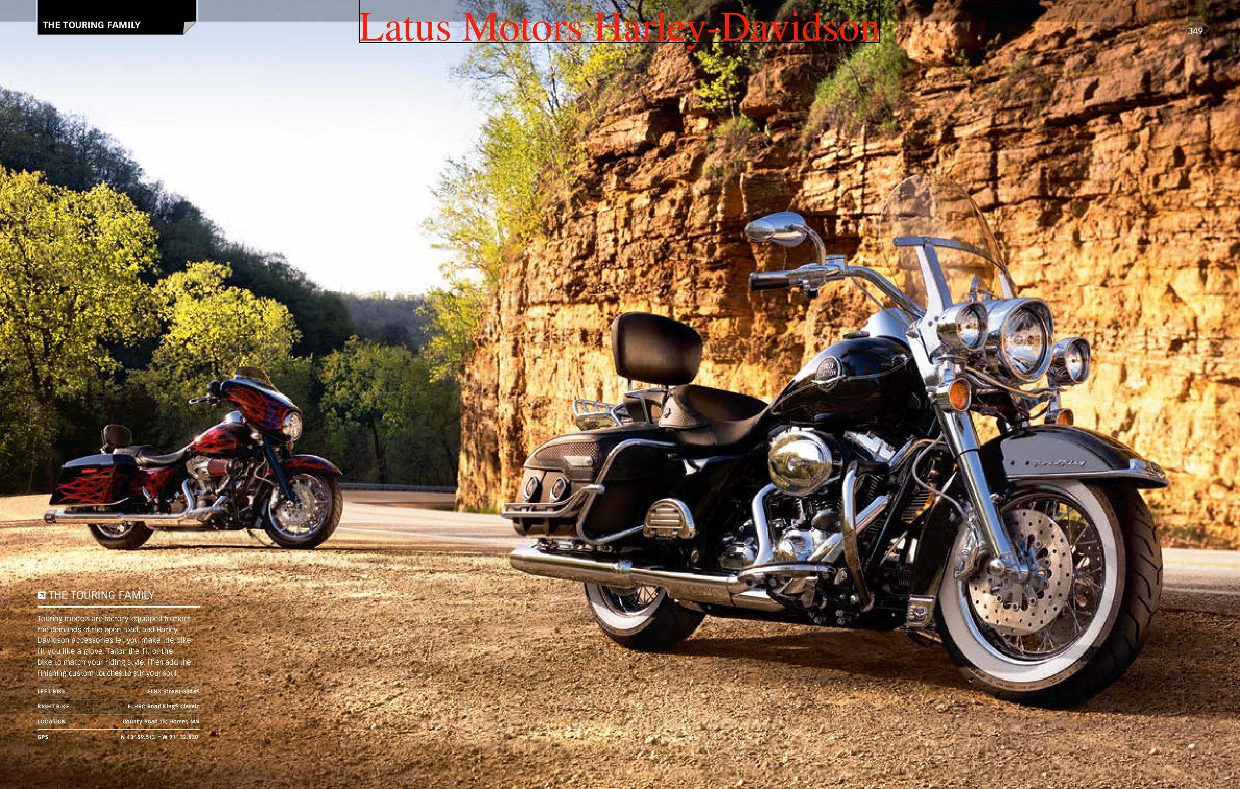Harley-Davidson Touring Parts and Accessories Catalog by Harley-Davidson of  Portland - issuu