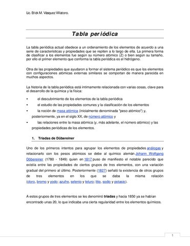 Sistema peridico by judaniel de la cruz villanueva issuu cover of tabla periodica urtaz Choice Image