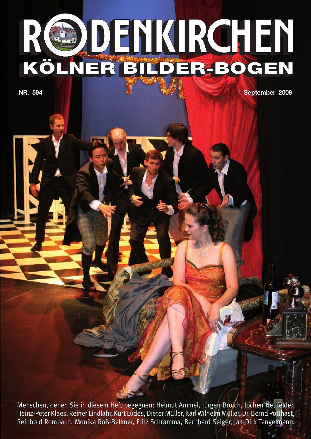 Heft Nr. 594 Kölner Bilderbogen September 2008 by Peter Fells - issuu