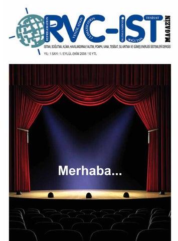 rvc-ist yıl : 1 sayı : 1 eylül-ekim 2008 by Hakan Akbulut